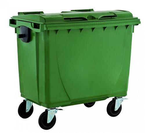 سطل زباله پلاستیکی چرخدار بزرگ