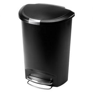 سطل زباله پلاستیکی پدالی زیبا