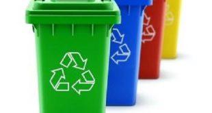 سطل زباله پلاستیکی 240 لیتری