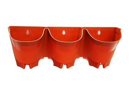 گلدان پلاستیکی دیواری صادراتی
